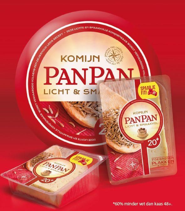 PanPan smaakvolle 20+ komijnekaas